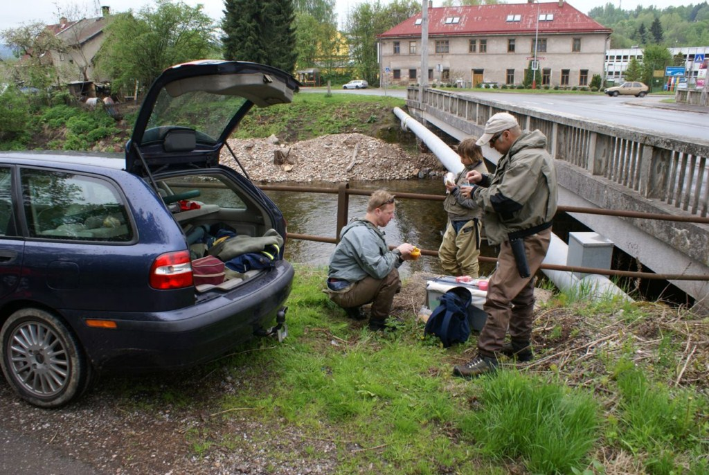 river flyfishing Czech Republic